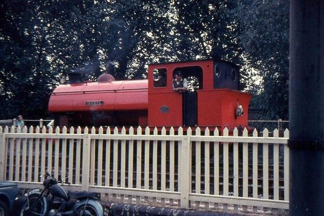 Preserved railway at Radstock