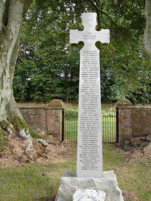 Dalgarnock Churchyard Cross
