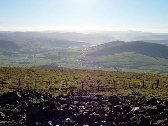 Looking Southeast from the summit of Tinto Hill