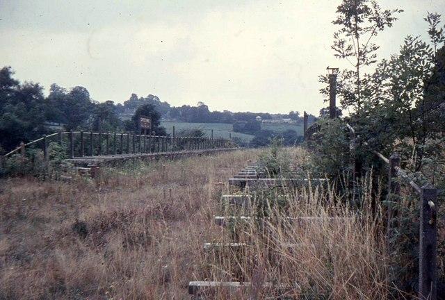 Shoscombe Railway Station