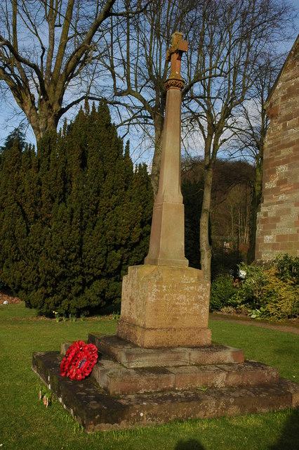 War Memorial, Clent
