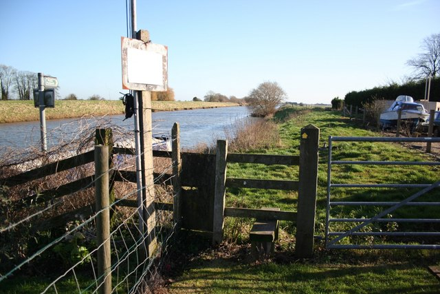 Witham footpath