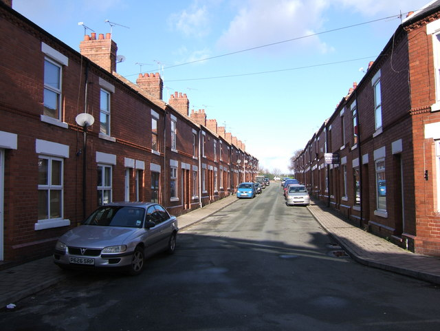 Terraced Houses in Cherry Road, Boughton