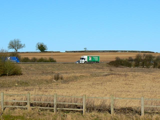 A34 southbound near Sutton Scotney