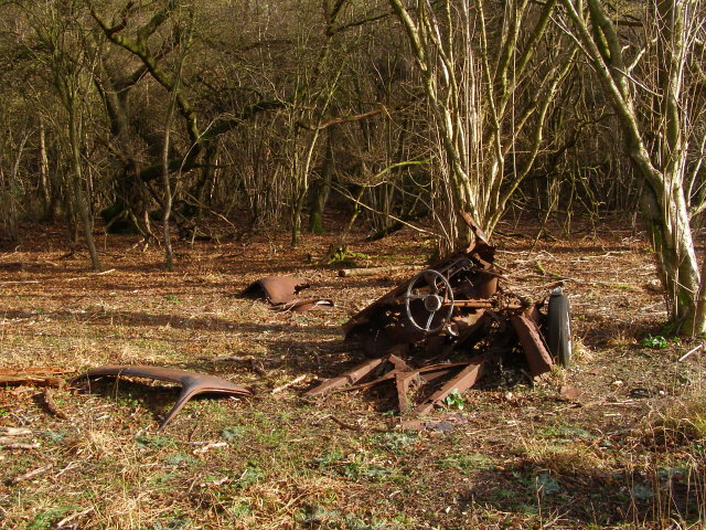 Vehicular remains, Vernditch Chase