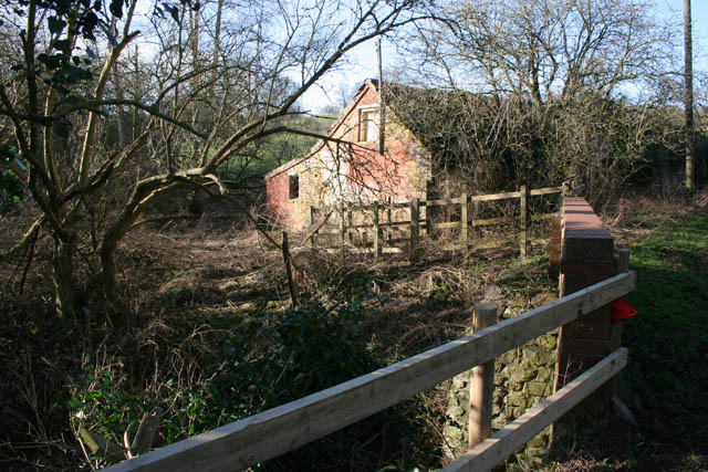 Farm building on Belvoir Road, Knipton