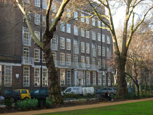 The Warburg Institute, Bloomsbury