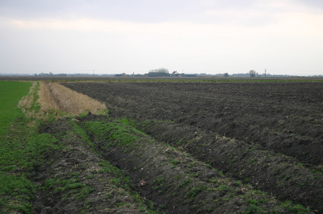 Looking across to Middlemoor Farm