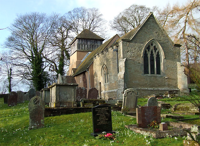 Church of St James at Shipton, Shropshire