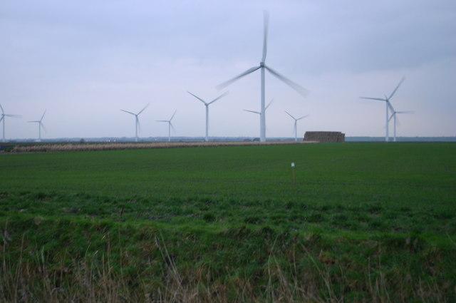 Wind Turbines on Tick Fen