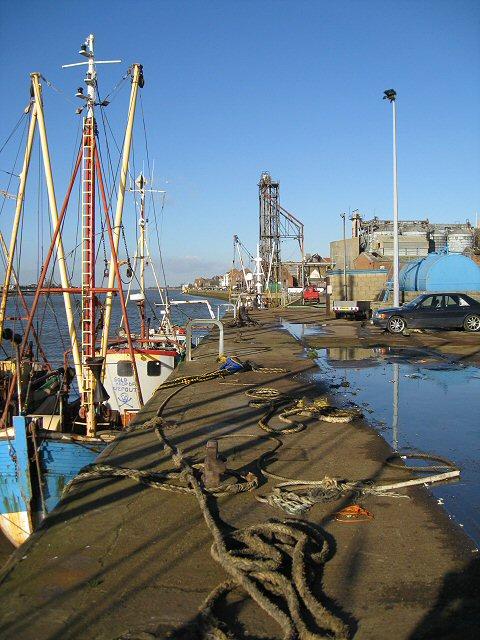 The quayside, Boal Quay