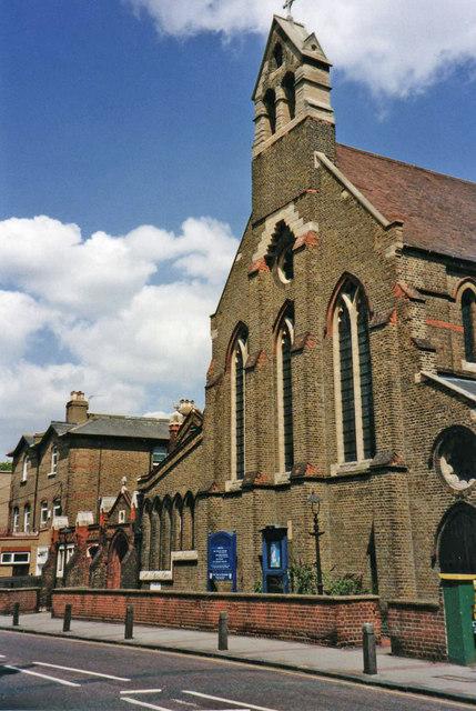St Mary Magdalene, Trinity Road, London SW17
