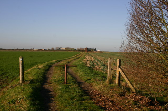 Footpath by Hiam Lodge