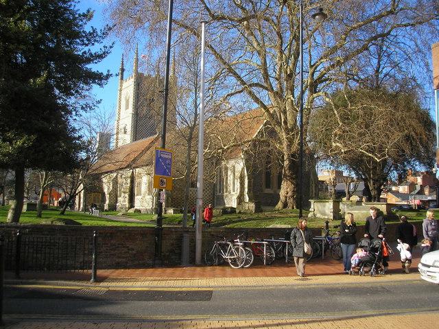 Minster Church of St Mary the Virgin, Reading, Berkshire