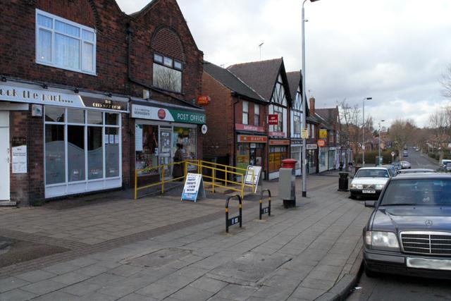 Central Avenue shops, Beeston