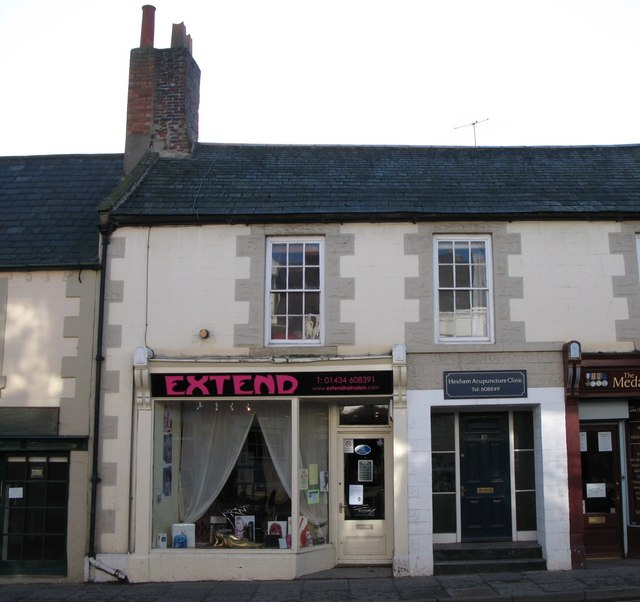 Extend Hair Salon (and Hexham Acupuncture Clinic) Hencotes