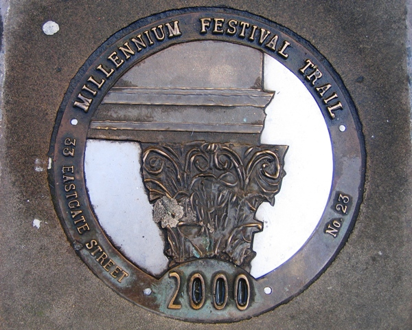 Millennium Festival Trail: 33 Eastgate Street - No 23