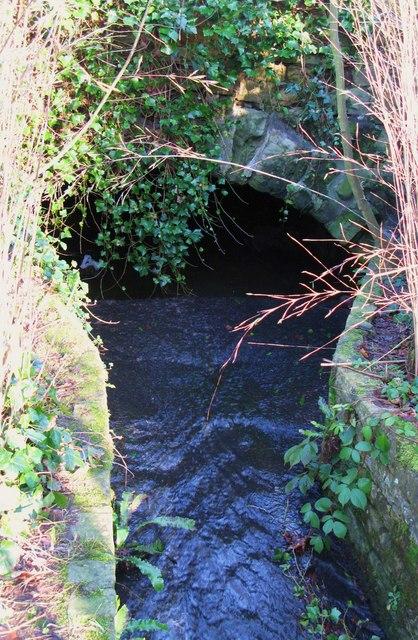 Mediaeval bridge over Cowgarth Burn in the Seal