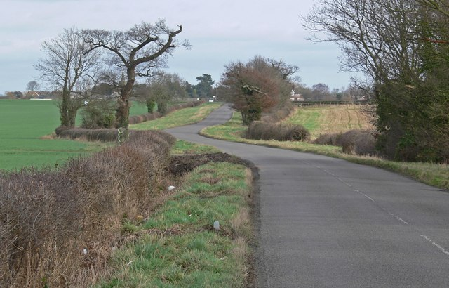 Drayton Lane towards Fenny Drayton