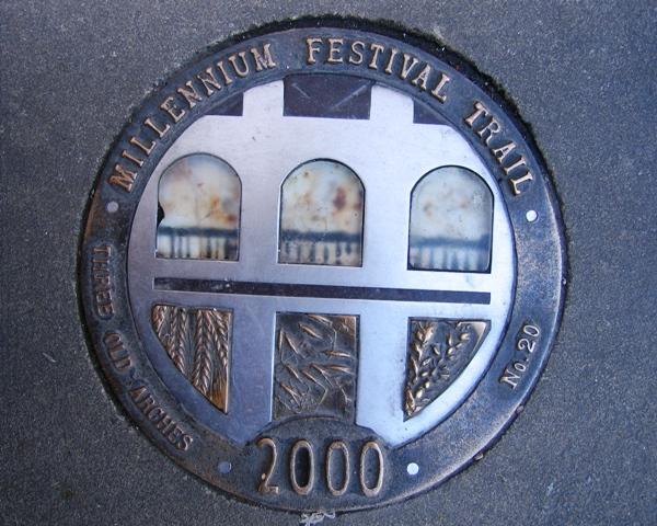 Millennium Festival Trail: Three Old Arches - No 20