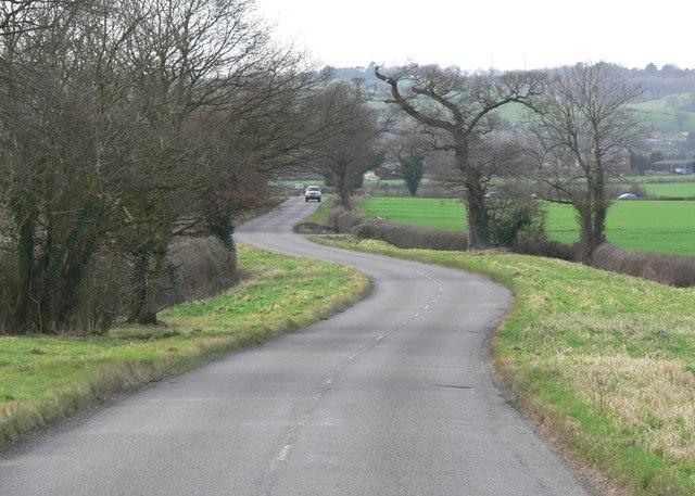 Drayton Lane near Fenny Drayton