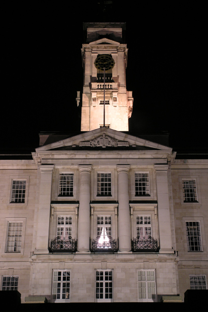 University of Nottingham, Trent Building at night