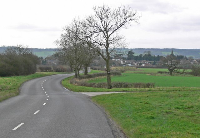 Fenn Lanes towards Fenny Drayton