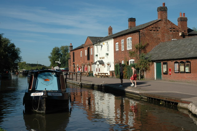The Swan at Fradley Junction