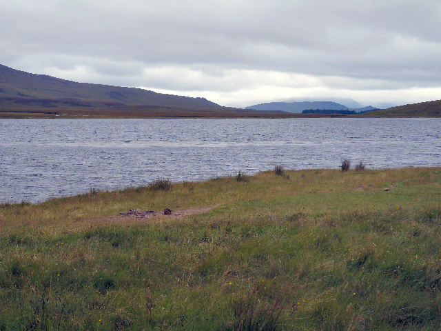 Looking North over Loch Pattack