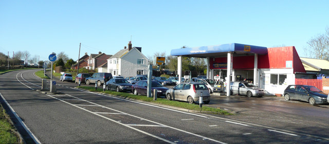 Tiddington garage and filling station