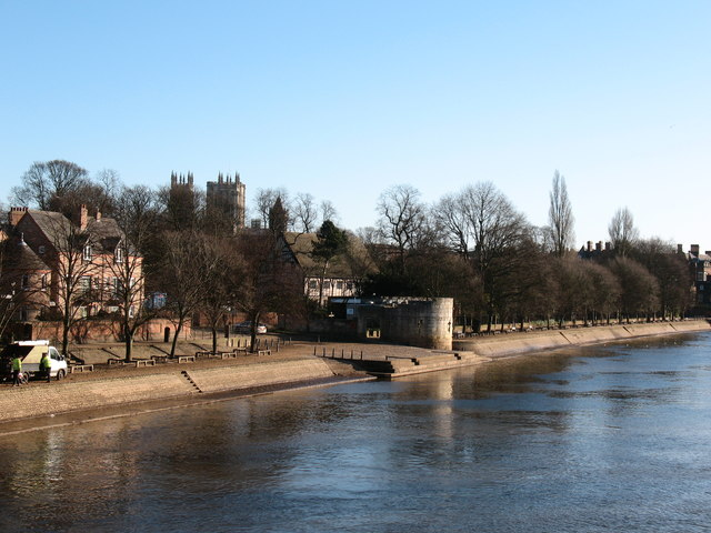 North bank of the Ouse