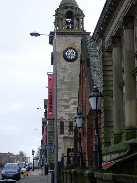 Clydebank Town Hall Clock
