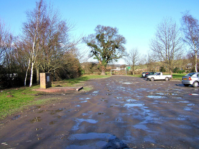 Car park for Blackstone Rock