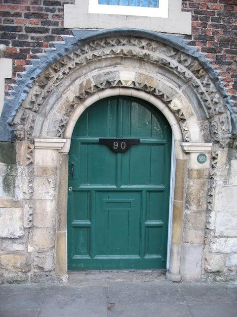 Ingram's Hospital doorway
