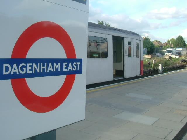 Dagenham East Underground Station