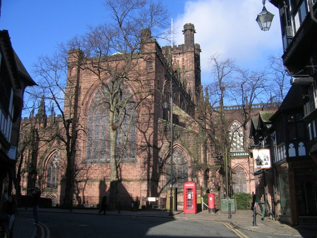Chester Cathedral south transept