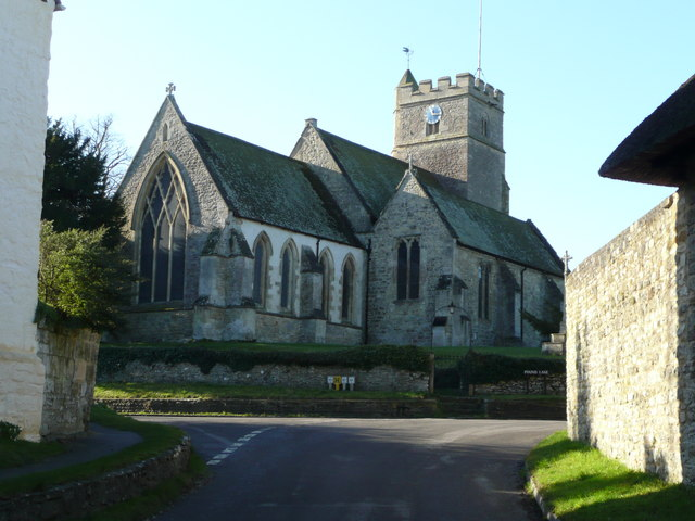 St. John the Baptist church, Stanton St. John