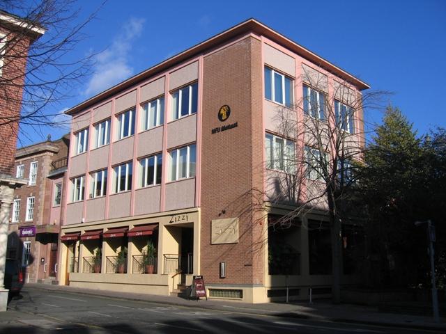 Zizzi and the NFU Mutual building