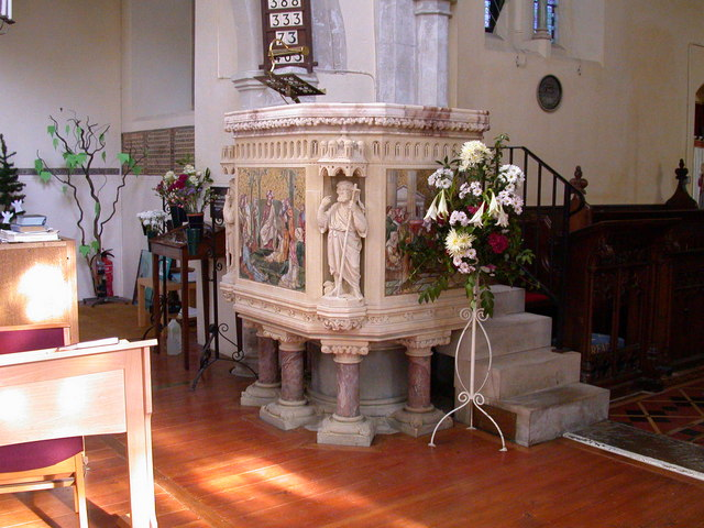 Pulpit, St John the Evangelist Church, Waterbeach