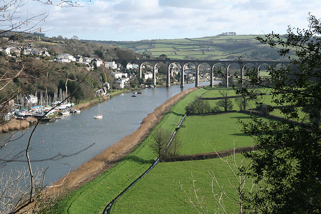 The Tamar downstream from Calstock