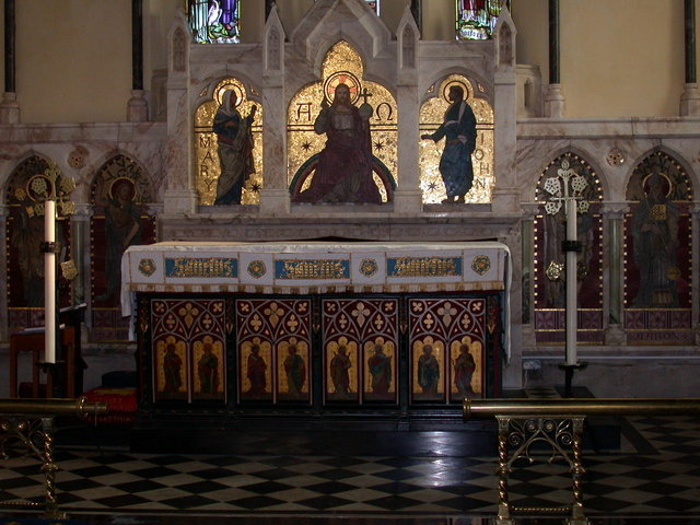 Altar, St John the Evangelist Church, Waterbeach