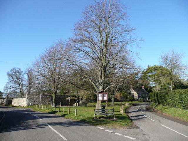 Village green, Great Rollright
