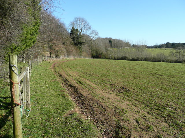 Arable land west of Great Rollright
