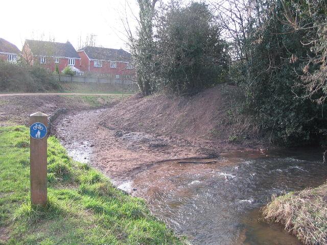 Overflow channel, Finham Brook
