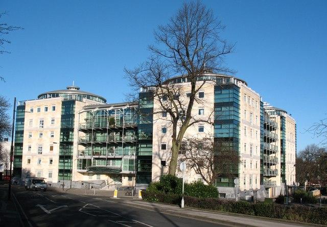 Westgate apartment block.