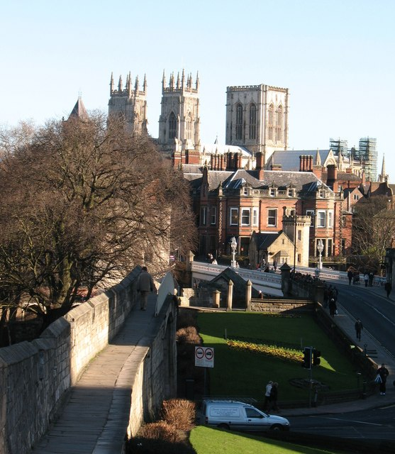 City Wall and the Minster