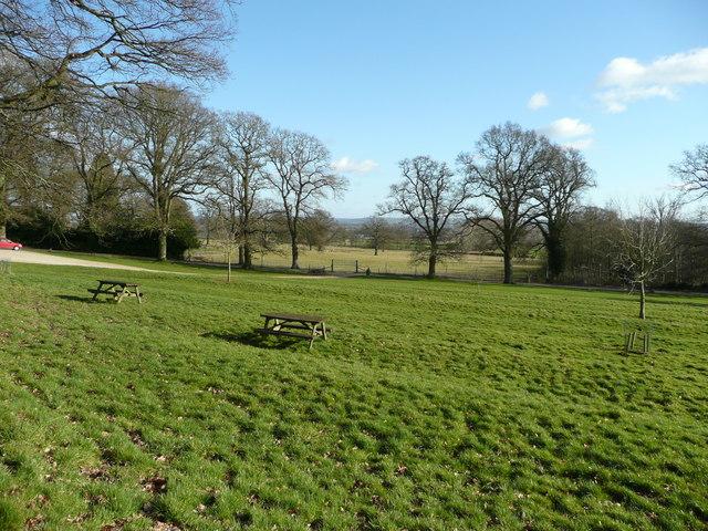 Batsford Arboretum picnic area