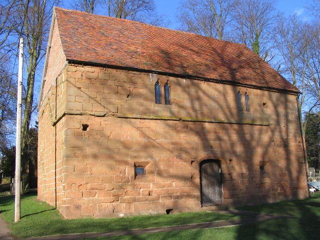 The barn, Abbey Fields