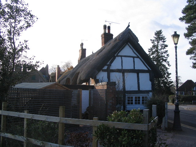 Thatched cottages, Castle Hill