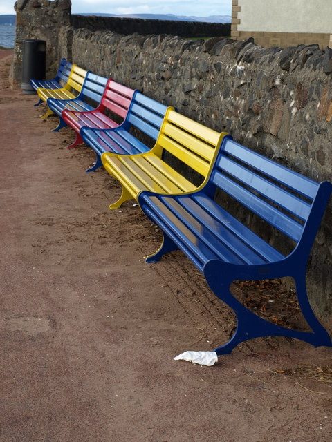 Benches, Largs